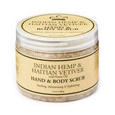 Nubian Heritage Indian Hemp + Hatian Vetiver Body Scrub by 12oz Scrub)