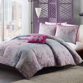 Bed Bath & Beyond Mizone Keisha Twin/Twin XL Comforter Set in Grey