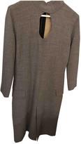 Jean Paul Gaultier Grey Wool Dresses