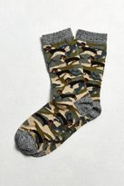 Urban Outfitters Camo Dachshund Sock