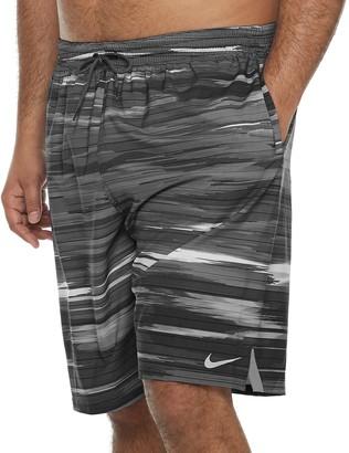 Stripe Vital 11-inch Volley Swim Trunks