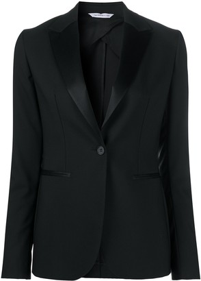 Tonello Single-Breasted Fitted Blazer