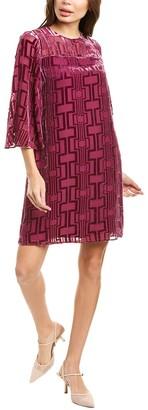 Trina Turk Riss Silk-Blend Mini Dress