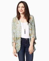 Charming charlie Wild Style Cocoon Wrap