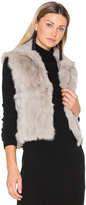 Adrienne Landau Rabbit Vest