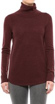 Adrienne Vittadini Merino Wool Cashfeel Turtleneck Sweater (For Women)