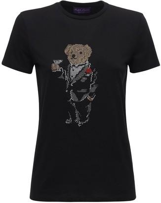 Ralph Lauren Collection Printed Cotton Jersey T-shirt