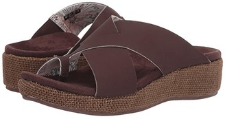 Spenco Oasis Slide (Brown) Women's Sandals