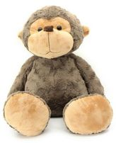 Jumbo Biscuit Friends Monkey Plush in Brown