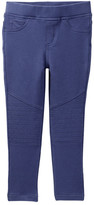 Tea Collection French Terry Moto Pant (Little Girls)