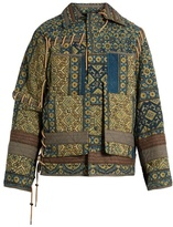Craig Green Diamond-print quilted jacket
