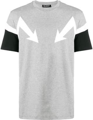Neil Barrett arrows print T-shirt