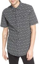 Ezekiel Men's Bubble Print Woven Shirt