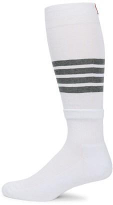 Thom Browne Over-The-Calf Stripe Socks