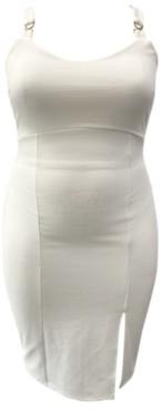 Almost Famous Trendy Plus Size Sleeveless Bodycon Dress