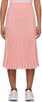 Kenzo Pink Pleated Skirt
