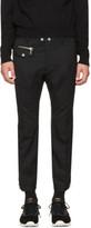 DSQUARED2 Black Biker Ski Trousers