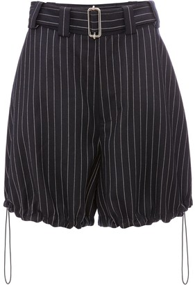 J.W.Anderson Pinstriped Balloon Shorts