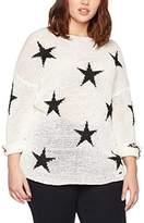 Studio Untold Women's Pullover Mit Stern Jumper