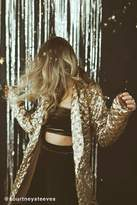 Urban Outfitters Party Time Sequin Belted Blazer