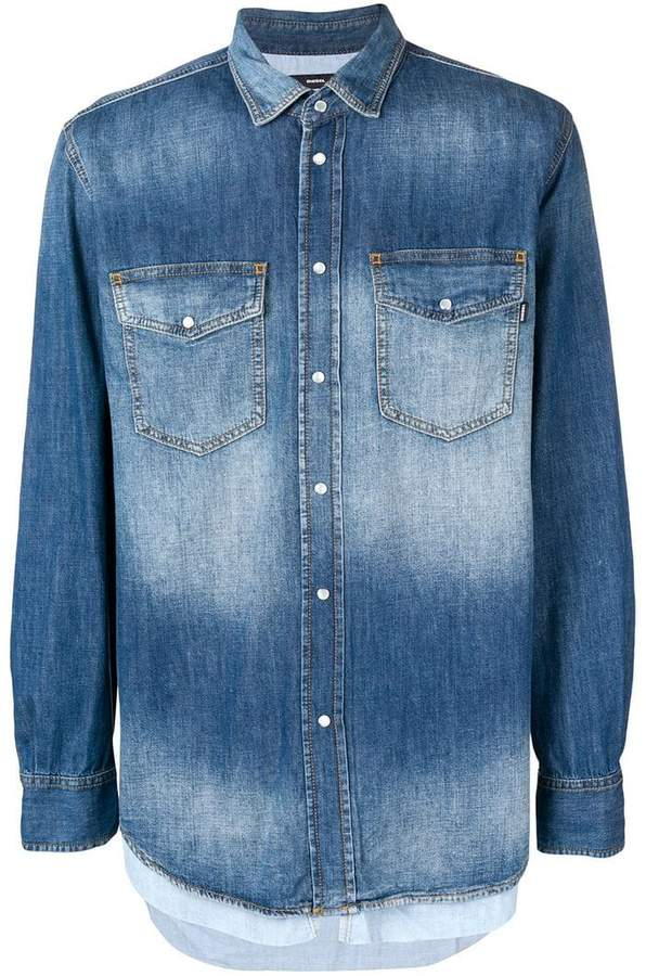 bf44c60a Diesel Denim Men's Shirts - ShopStyle
