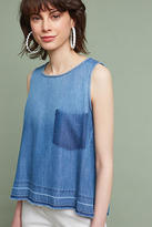 Cloth & Stone Washed Denim Pocket Tank Top