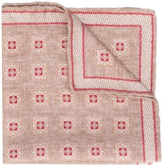 Brunello Cucinelli All-Over Print Handkerchief