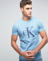 Calvin Klein Jeans Re-Issue T-Shirt with Denim Logo
