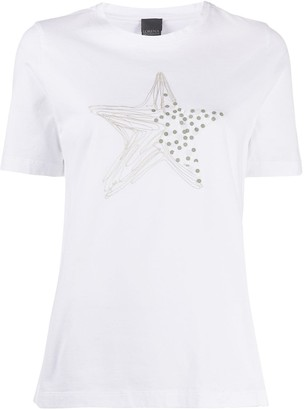 Lorena Antoniazzi embroidered star T-shirt