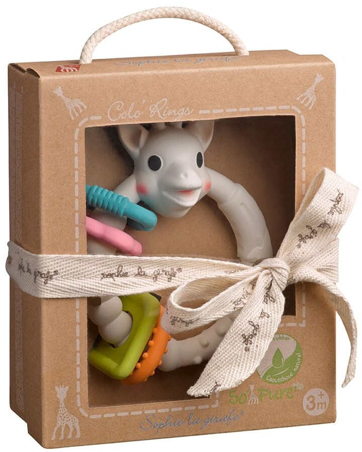 Thumbnail for your product : Sophie La Giraffe So'Pure Multi Textured BabyTeether