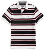 Tommy Hilfiger Slim Fit Novelty Stripe Polo