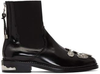 Toga Pulla Black Hardware Boots