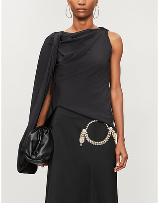 J.W.Anderson One-sleeve satin top
