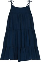 Thumbnail for your product : HONORINE Peri tiered minidress