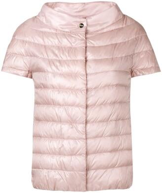 Herno Shortsleeved Puffer Jacket
