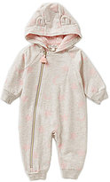 Jessica Simpson Baby Girls Newborn-9 Months Star & Moon Printed Coverall