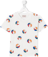 Bobo Choses beach ball print T-shirt - kids - Organic Cotton - 9 yrs