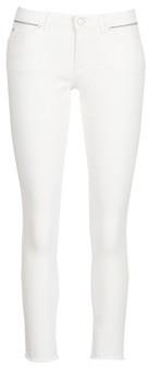 Ikks BN29135-11 women's Skinny Jeans in White