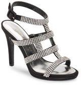Caparros Elyzabeth Metallic Rhinestone Heels