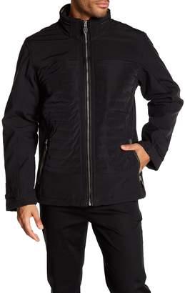 Bugatchi Ribbed Front Zip Jacket