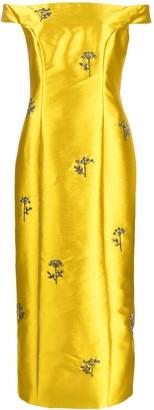 Erdem embellished long dress