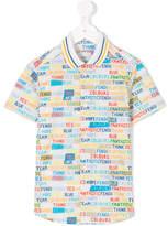 Fendi Kids Fantastic Colours polo shirt