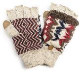 Muk Luks Women's Americana Flip Mittens