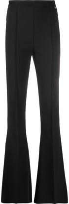 Elisabetta Franchi High-Waist Bootcut Trousers