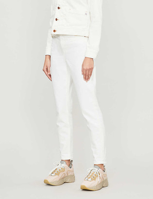 Topshop High-rise tapered mom jeans