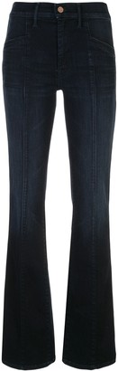 Mother Slant Drama flared jeans