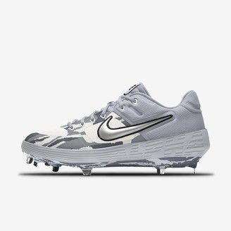 Nike Custom Baseball Cleat Alpha Huarache Elite 2 Low Metal Premium By You