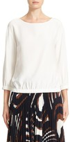 Lafayette 148 New York Women's Evie Silk Blouse