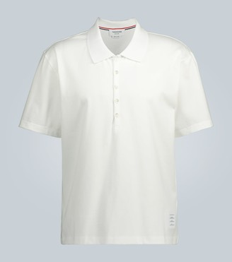 Thom Browne Relaxed-fit polo shirt