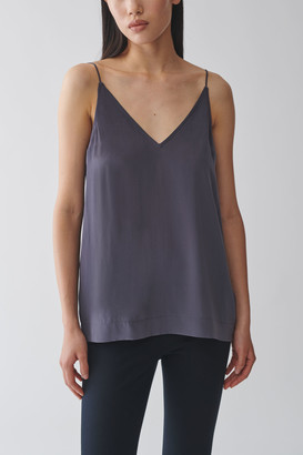 Cos Layered Cotton-Silk Top
